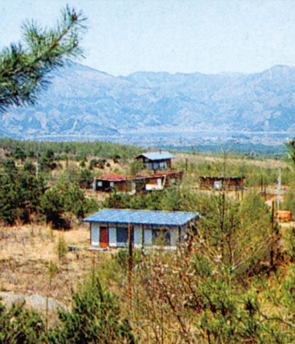 昭和37年ごろの第1次分譲地