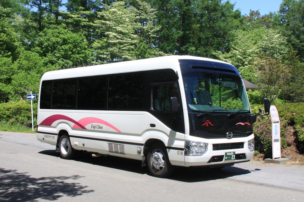 富士桜高原別荘地 無料バス