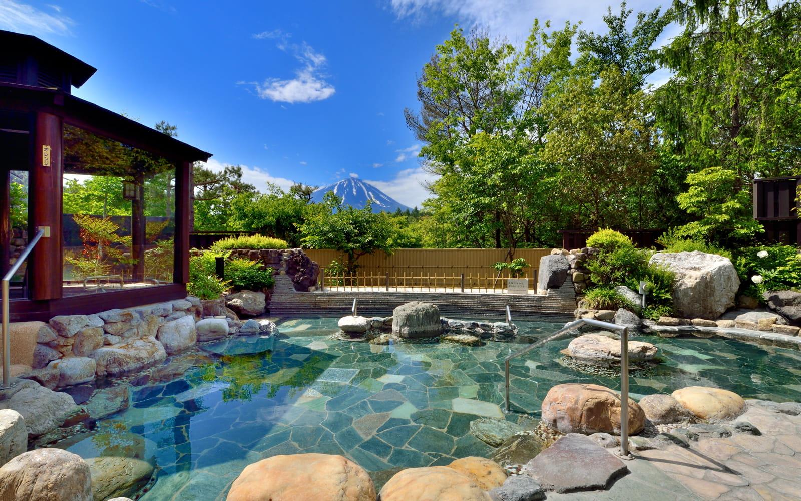 富士山眺望の湯ゆらり