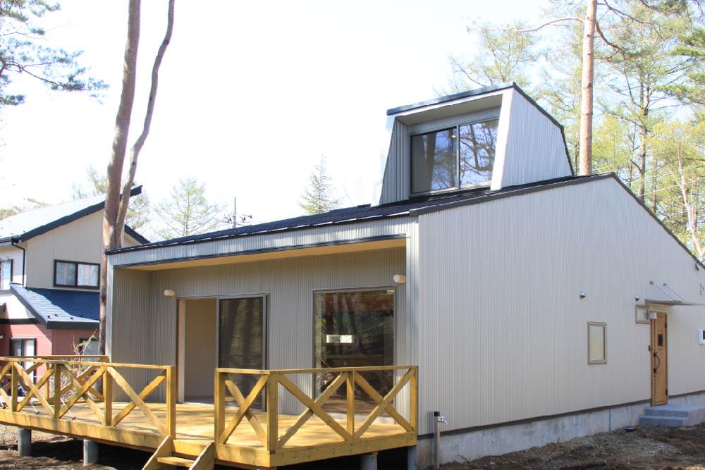 ドーマー付デザインハウス